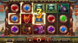 The legend of the Golden Monkey slot from Yggdrasil Gaming - Gameplay