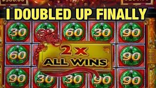 BIG WIN DOUBLE UP ON MIGHTY CASH AT RIVER SPIRIT CASINO! WE PLAYED ALL MIGHTY CASH SLOTS