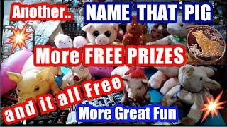 Wow!.Here we go again.NAME THAT PIG..More PRIZES..More Chances.More Fun...and BIG DADDY Scratchcards