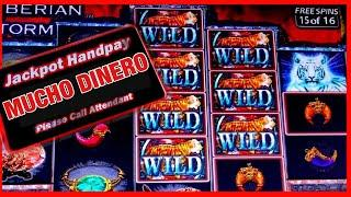 MASSIVE JACKPOT/ MY FAVORITE GAME/ SIBERIAN STORM SLOT JACKPOT/ HIGH LIMIT/ GRANDE WIN!!!