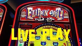 Flippin' Out Live Play High Limit $2 Denom $10.00 per spin Slot Machine
