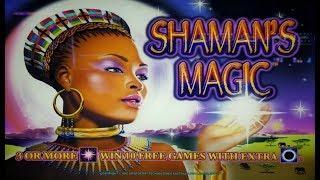 BIG WINS on SHAMAN'S MAGIC + POMPEII SLOT MACHINE POKIE BONUSES PALA CASINO
