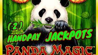(2) HANDPAY JACKPOTS on Lightning Link Best Bet & Dragon Link Panda Magic HIGH LIMIT $50 Bonus Round