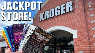 THAT WAS CRAZY GOOD!  JACKPOT STORE ROAD TRIP  $140 TEXAS LOTTERY Scratch Offs