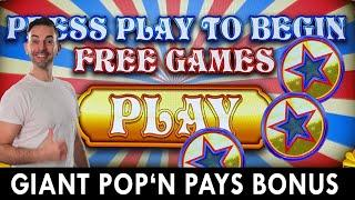 GIANT Pop' N Pays BONUS  Seven Feathers Casino Oregon #ad