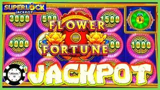 HIGH LIMIT SUPERLOCK Lock It Link Flower Fortune HANDPAY JACKPOT $30 BONUS ROUND Eureka Reel Blast