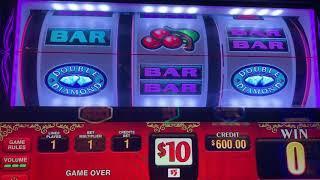 Double Gold $15/Spin & Pinball $30/Spin - High Limit - Jackpot? Bonus?