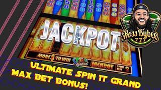 PERFECT Spin It Grand MEGA MASSIVE JACKPOT Session ChangeItUp Slot Strategy