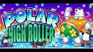 VGT 9 Line Polar High Roller ️ ️ High Limit Live Play!