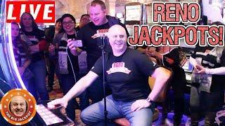 • LIVE HUGE JACKPOTS from Reno, NV! • Raja's Birthday Bash! •