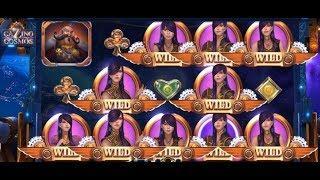 Cazino Cosmos Slot - 4 WILD LINES INSANE WIN!