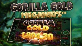 GORILLA GOLD MEGAWAYS (BLUEPRINT GAMING) ONLINE SLOT