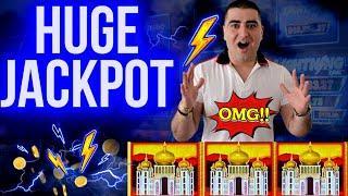 Lightning Link Slot MASSIVE HANDPAY JACKPOT   Winning Big Money At Casino   SE-3   EP-2