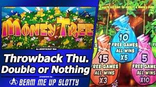 Money Tree Slot - TBT Double or Nothing, Live Play, Free Spins Bonus with Re-Trigger