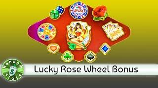 Lucky Rose slot machine, Wheel Bonus