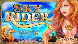 #ThrowbackThursday HIGH LIMIT SKY RIDER with LOY $20 & $30 a SPIN, BUFFALO GOLD & DELUXE, MISS KITTY