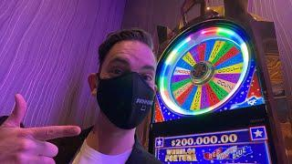 LIVE $100 SPINS COMEBACK CONTINUED!  PART 2 OF $30,000 LIVE SLOTS