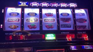 Double 5 Times Pay - Double Jackpot 5 Reels Old School - High Limit Slot Play