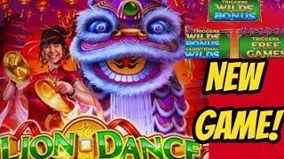 LION DANCE BONUS-NEW VERSION & HIGH LIMIT PINBALL BONUS