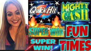 FUN DAY PART 2!  ARISTOCRAT FAST CASH SUPER WIN! MIGHTY CASH | WONDER 4 JACKPOTS