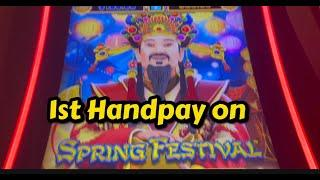 My first ever Handpay on Spring Festival and it was a good one !