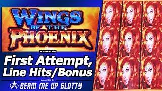 Wings Of The Phoenix Slot - First Attempt, Nice Line Hits and Free Spins Bonuses