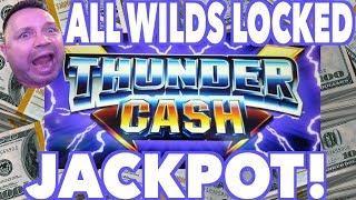 Jackpot Handpay ALL WILDS LOCKED THUNDER CASH JACKPOT