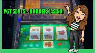 NEW VGT Slot Machines  New TO ME Anyway! Border Casino in Oklahoma! ️