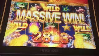 MASSIVE WIN - Ocean Magic Live Play & 4 Symbol Bonus Trigger!