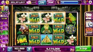 "JUNGLE WILD Video Slot Casino Game with a ""BIG WIN"" FREE SPIN BONUS"