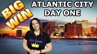 ️ SLOT QUEEN HEADS TO ATLANTIC CITY  BIG WINS IN THE BIG CITY