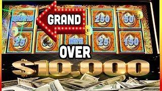 MIGHTY CASH GRAND JACKPOT! CAUGHT• LIVE AT FOUR WINDS CASINO•DAN'S MASSIVE WIN!• CASINO GAMBLING!