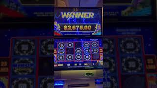 Minimum Bet = Big Jackpot! Lightning Link High Stakes Winner #shorts