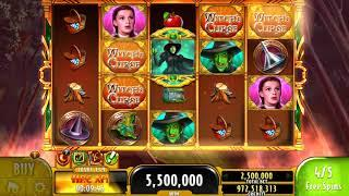 THE WIZARD OF OZ: WICKED WITCH'S CURSE Video Slot Casino Game with a FREE SPIN BONUS