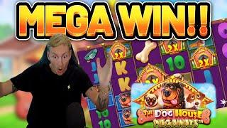 MEGA WIN!!!! DOG HOUSE 2 MEGAWAYS BIG WIN - EXCLUSIVE Casino Slot from Casinodaddy LIVE STREAM