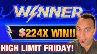 High Limit Lightning Link JACKPOT HANDPAY! ️ | HL Dancing Drums   | $10 - $50 BETS |