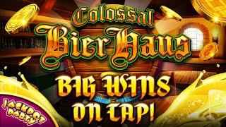 Big Wins on Tap in Colossal Bier Haus! | Jackpot Party Casino