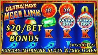 Ultra Hot Mega Link INDIA Slot Machine Casino SUNDAY MORNING SLOTS WITH GRETCHEN EPISODE #25