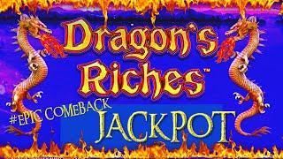 ️HIGH LIMIT Lightning Link Dragon's Riches HANDPAY JACKPOT ️$25 MAX BET BONUS ROUND Slot Machine