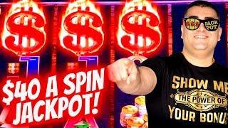 HANDPAY JACKPOT On High Limit CASH BULL Slot Machine | Slot Machine JACKPOT | EP-26