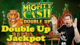 Mighty Cash Double Up Jackpot Bonus  Red Gems Pay Off Big Time!