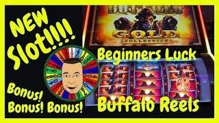 •NEW Buffalo Gold Reel Slot Machine Winning•