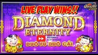•NEW DELIVERY• Diamond Eternity Slot Bonus LIVE PLAY WINS