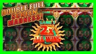 MIGHTY CASH DOUBLE UP • FULL SCREEN BIG WIN • LIVE PLAY AT THE COSMO