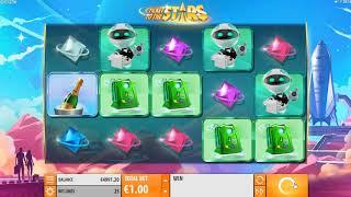 Ticket to the Stars slot from Quickspin - Gameplay