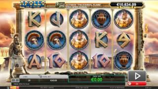 Apollo God Of the Sun Slot Game Play - by Leander