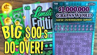 Do-Over PAY$ OFF  **NEW TICKETS** PROFIT SE$$ION  $115 TEXAS LOTTERY Scratch Offs