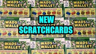 SCRATCHCARDS ..NEW WADS IN YOU WALLET & BURIED TREASURE