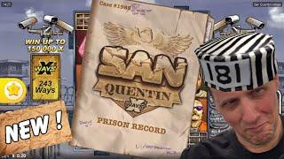 San Quentin - Nolimit City *Hot New Game* with huge wins!