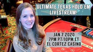 Ultimate Texas Hold'em Livestream!! First of the new year!!